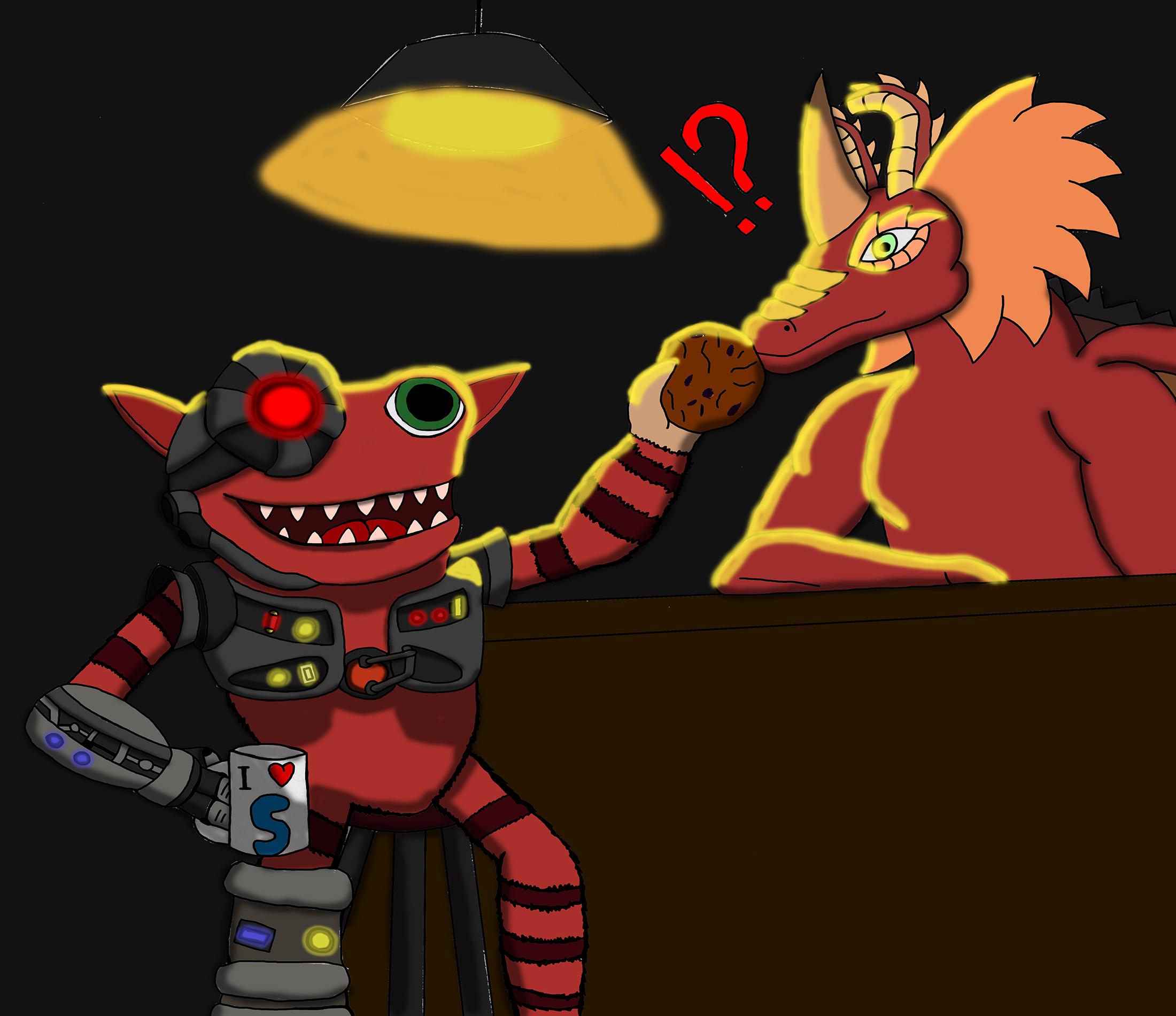 Bar, Dragon, Grox! - -