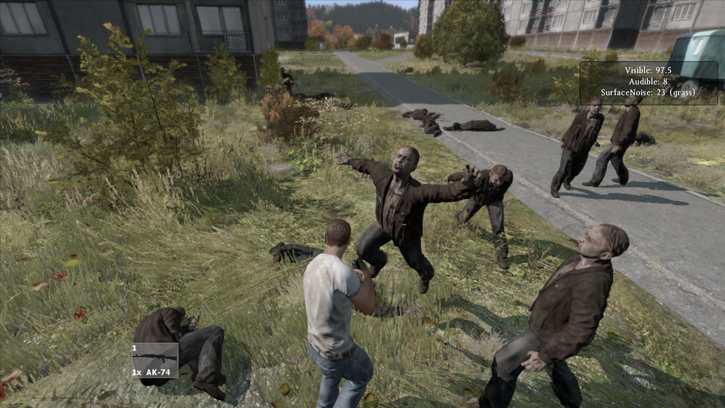 DayZ jumping zombie attack GO - -