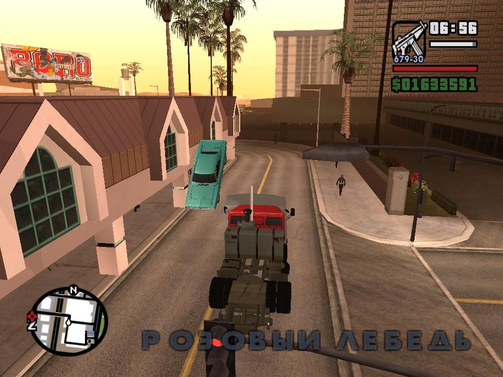 2 глюка на одном скрине! - Grand Theft Auto: San Andreas