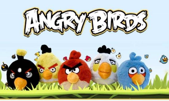 Флеш игры Angry Birds