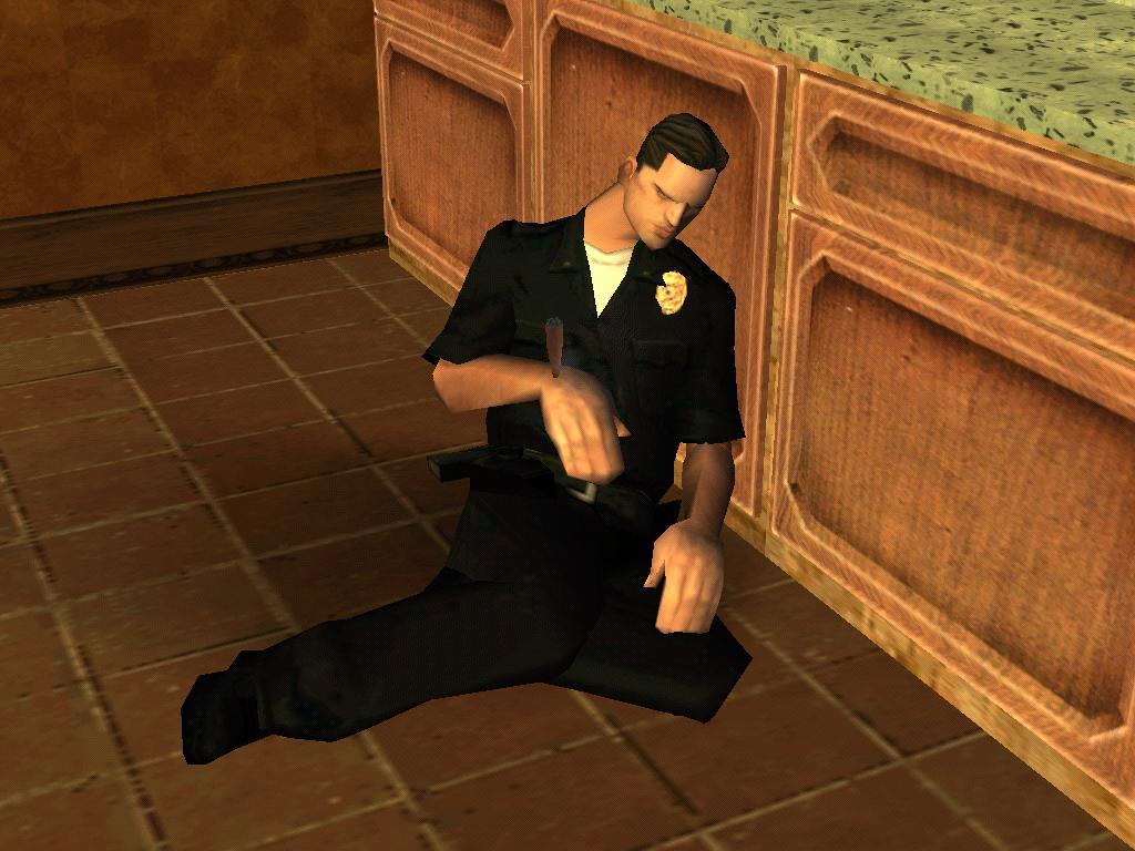Укуриный мент)))в ХЛАМ - Grand Theft Auto: San Andreas