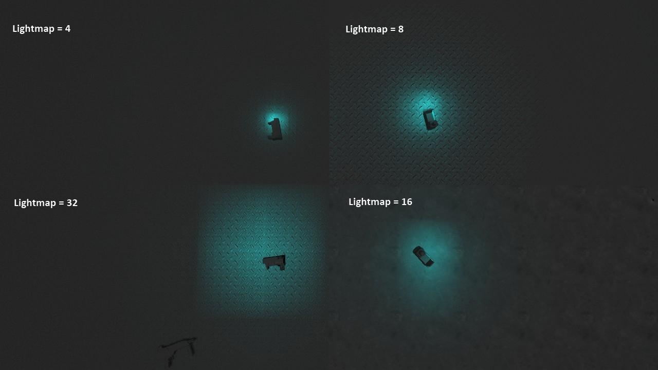 Динамическое освещение на поверхностях с различными установками лайтмапа - Half-Life 2