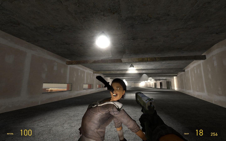 Бесплатная пластическая операция для Аликс :) - Half-Life 2