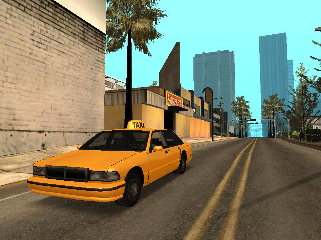 Такси - Grand Theft Auto: San Andreas
