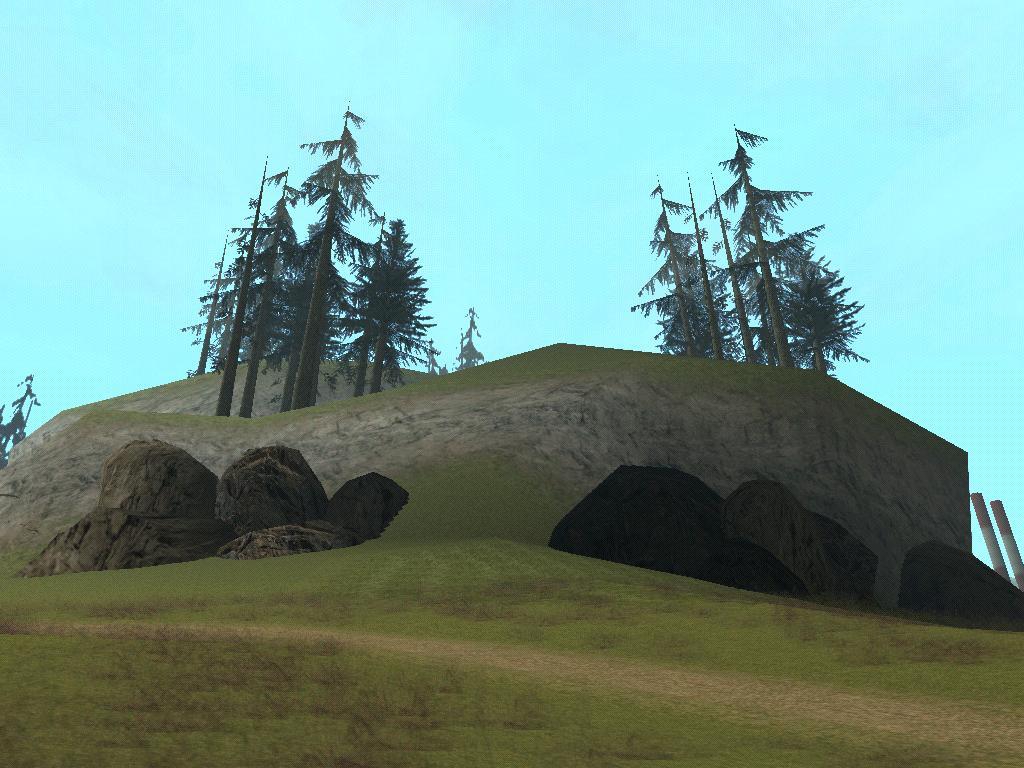 Холм - Grand Theft Auto: San Andreas