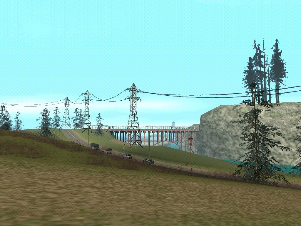 Красивый вид - Grand Theft Auto: San Andreas