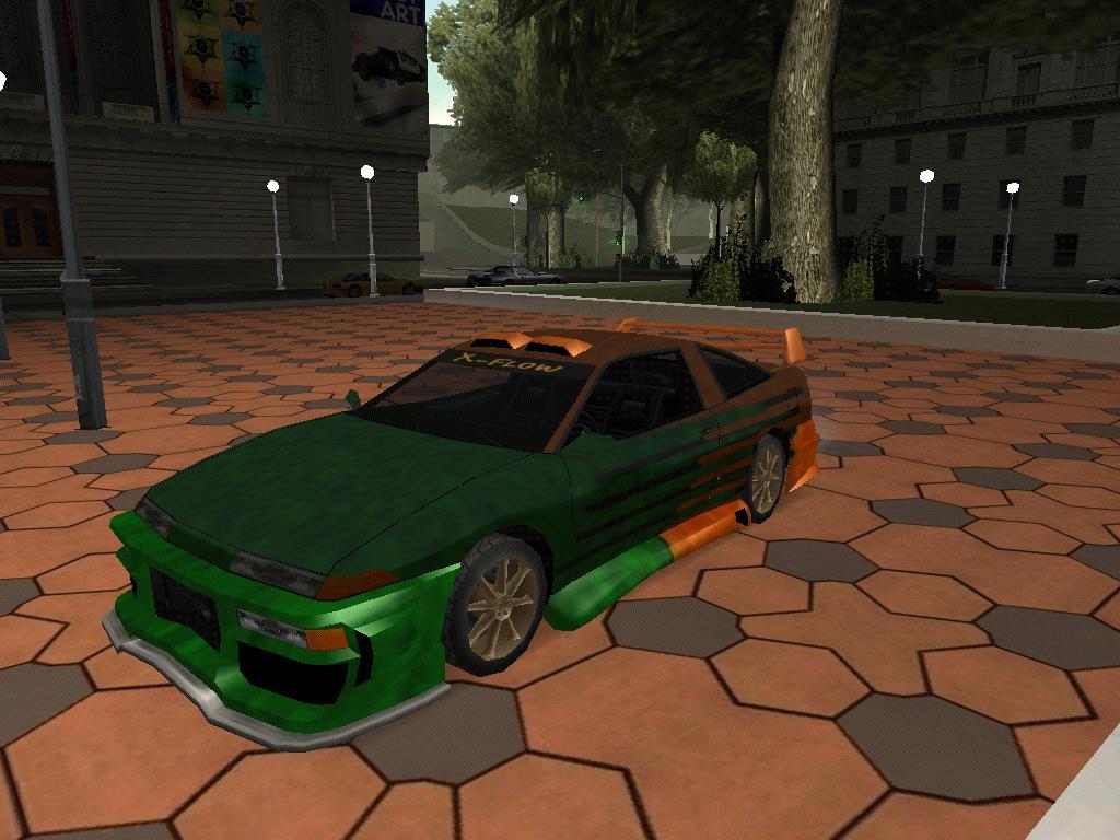 Тюнингованный Уран - Grand Theft Auto: San Andreas
