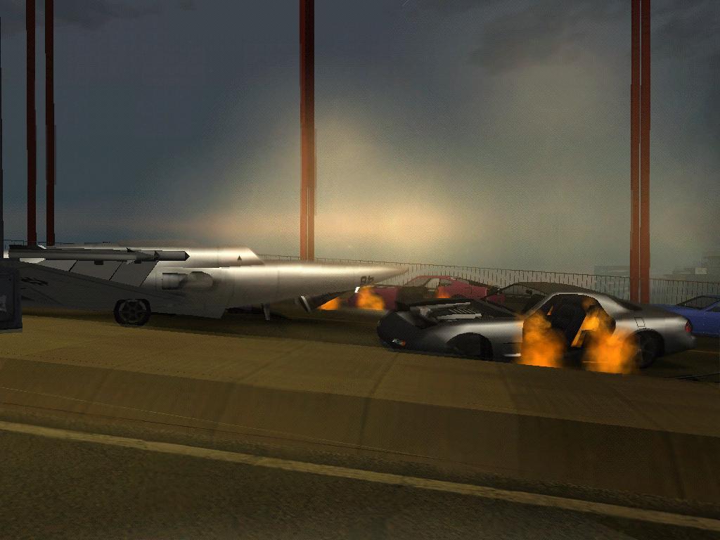 Ага,над мостом хотел пролететь... - Grand Theft Auto: San Andreas
