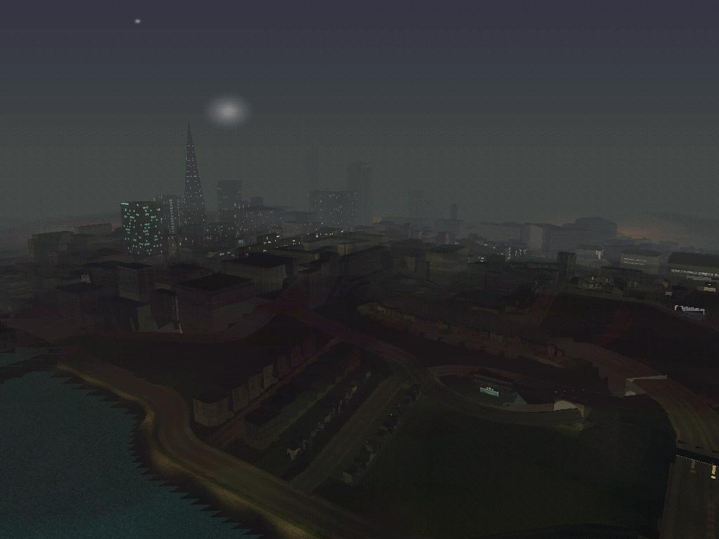 Вид с Золотого моста - Grand Theft Auto: San Andreas