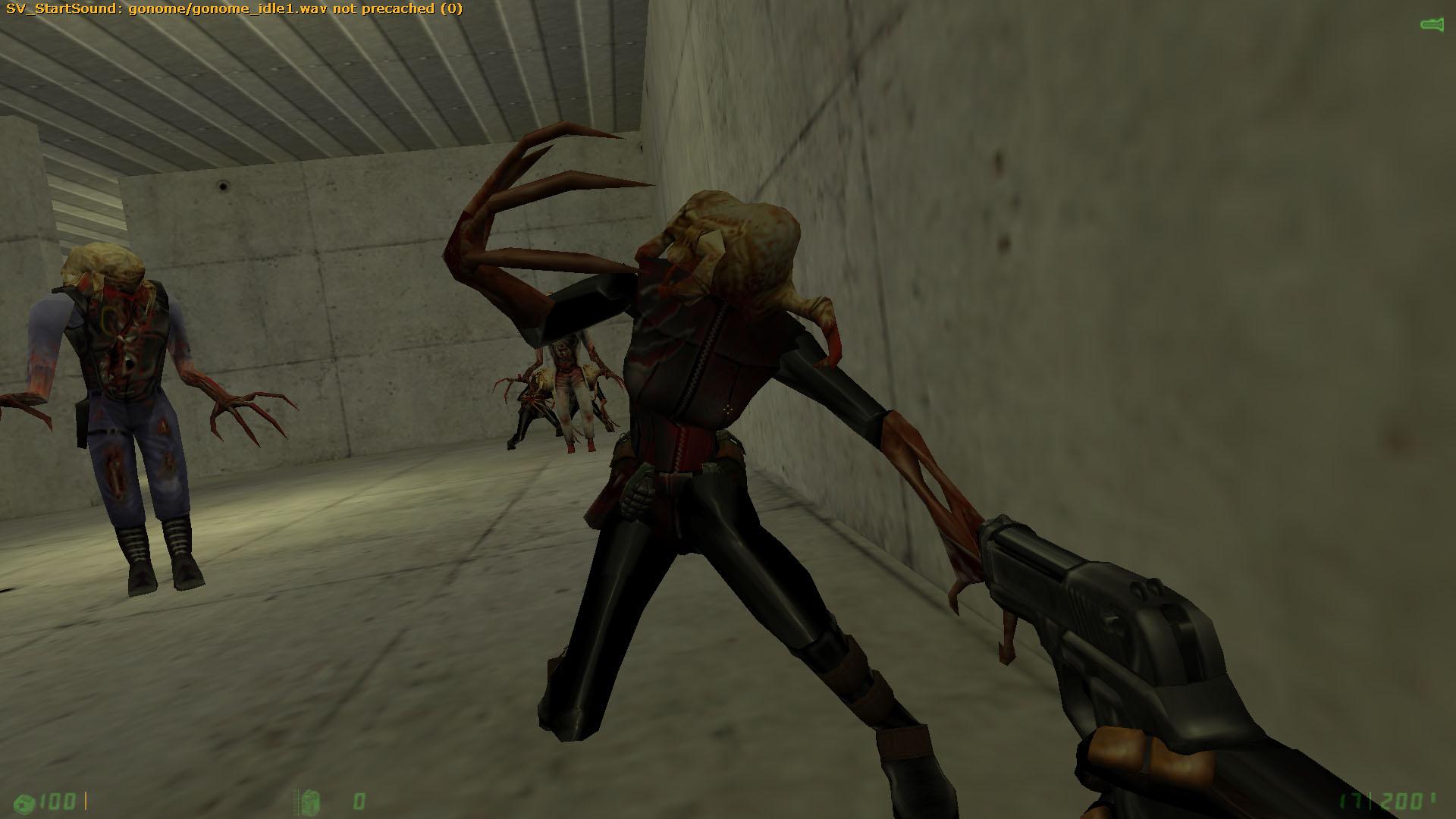 Зомби-Ассассин шустрая гадость - Half-Life