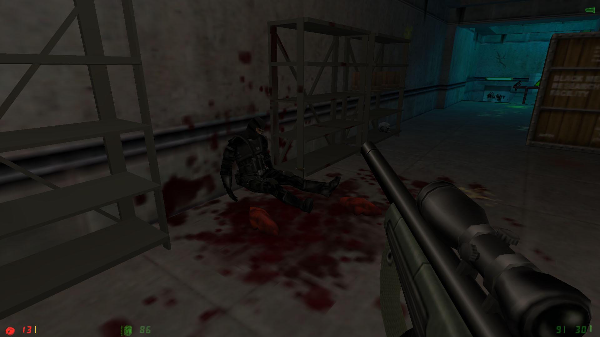 Друг, ты жив? - Half-Life