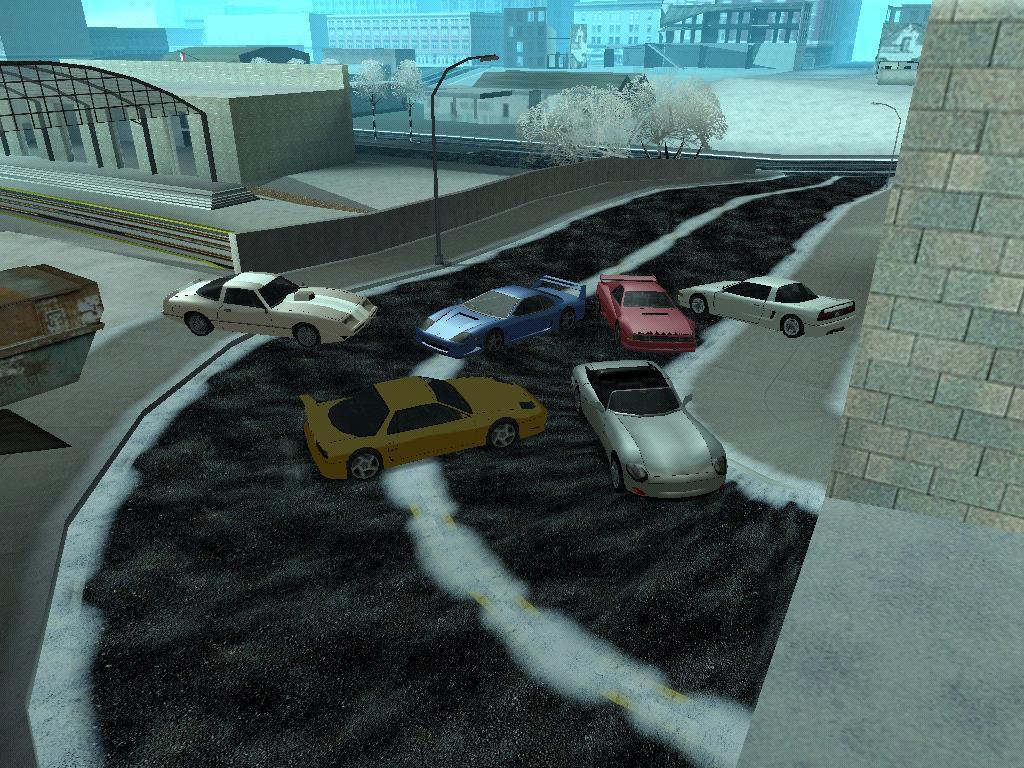 Спортивные автомобили - Grand Theft Auto: San Andreas