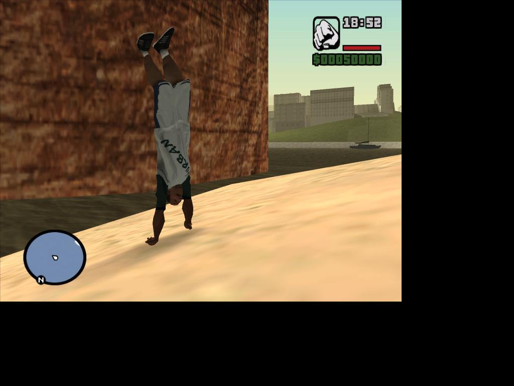кто так сможет? - Grand Theft Auto: San Andreas