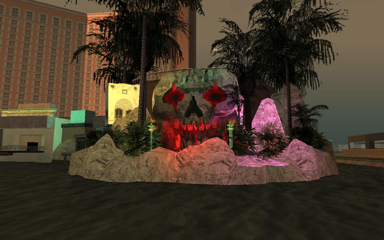 дохлый пират - Grand Theft Auto: San Andreas жызнь