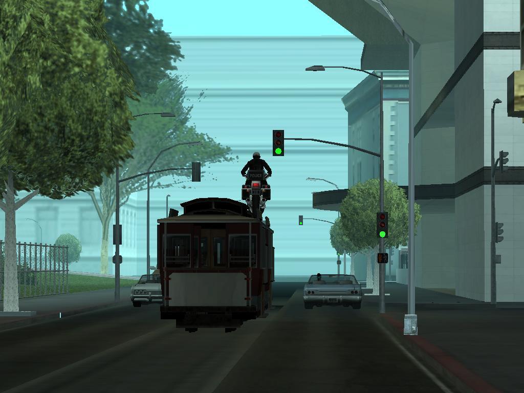Рано утром... в Сан-Фиеро. - Grand Theft Auto: San Andreas