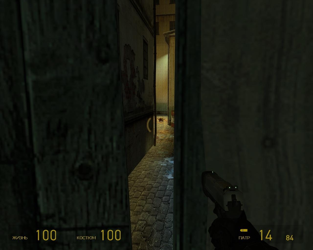 Подсматриваем за зомби - Half-Life 2 Half-Life 2: Update