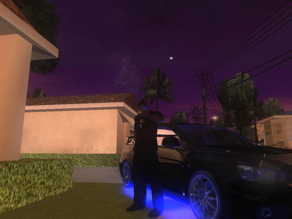 Жду девушку,курю... - Grand Theft Auto: San Andreas