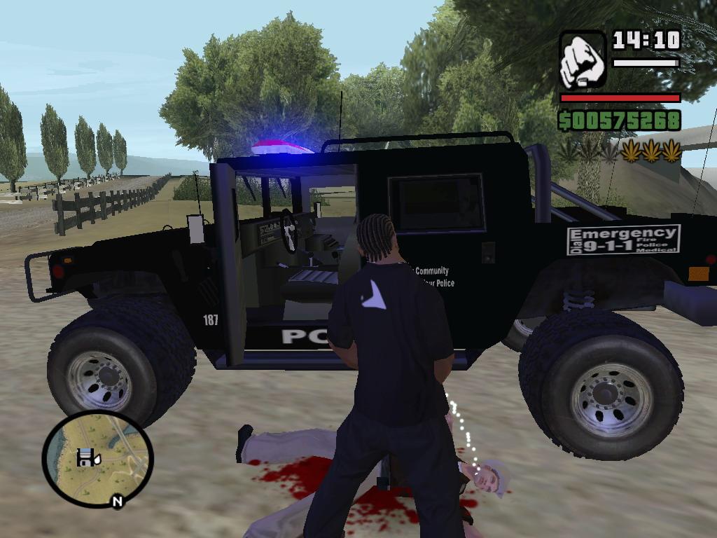 Жесть - Grand Theft Auto: San Andreas