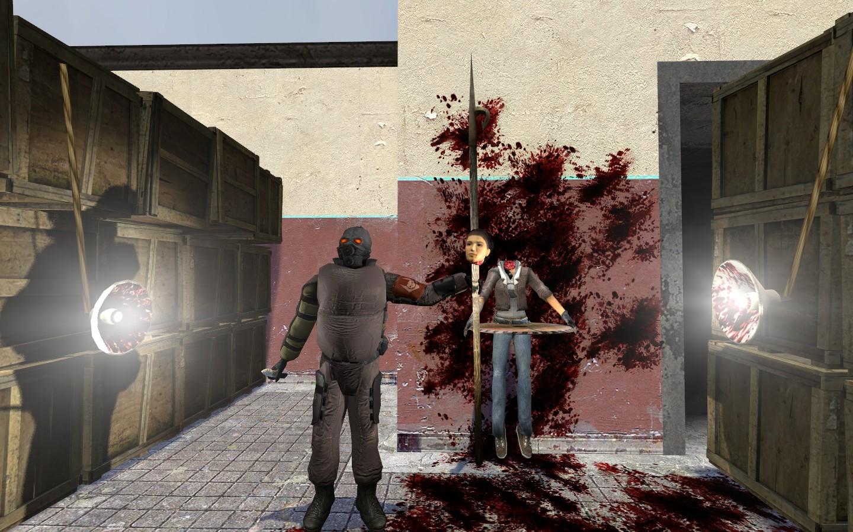 Комбайны мстят!!! - Half-Life 2 Месть сладка