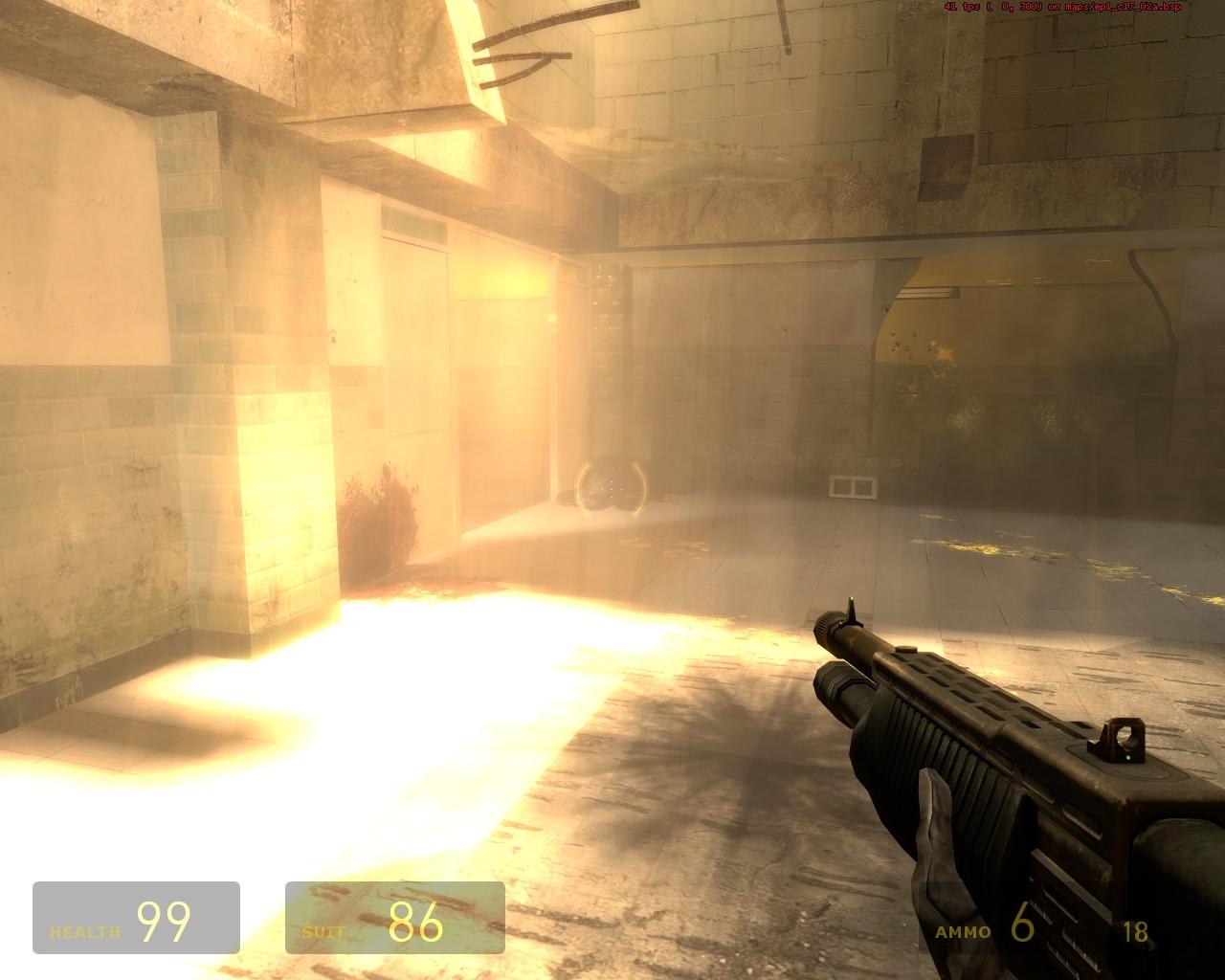 Сражаться в таких условиях невыносимо - Half-Life 2