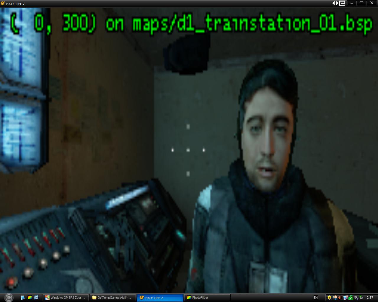Барни видно - Half-Life 2