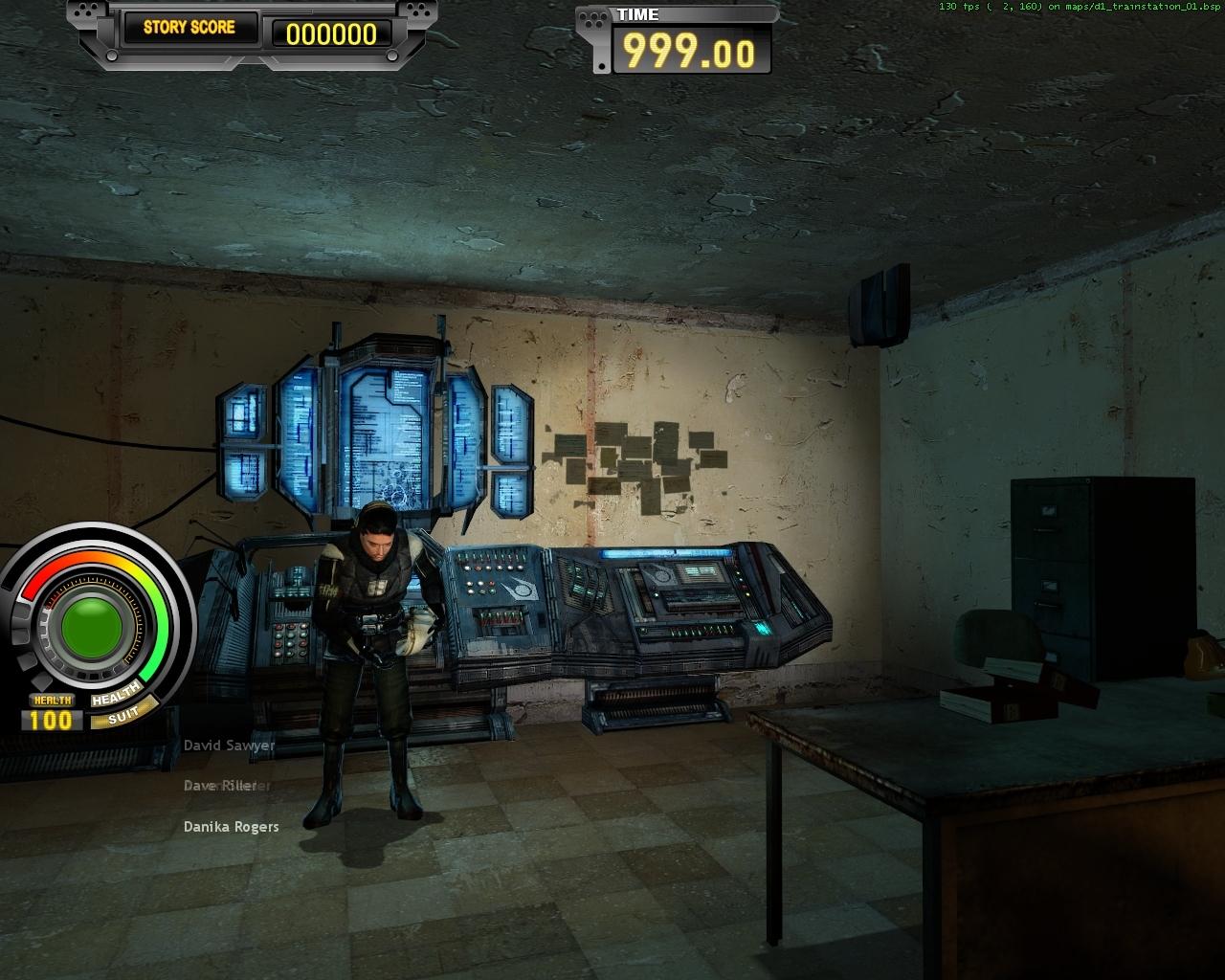 Фонарик - Half-Life 2 Half-Life 2 Survivor, HL2Survivor