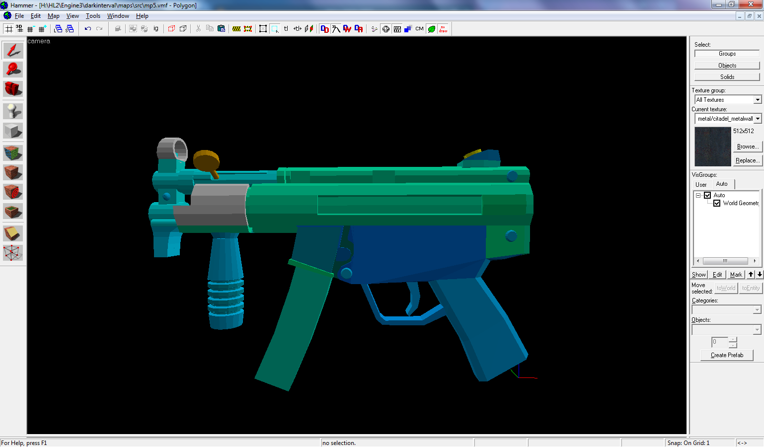 D.I. MP5k (SMG2) - Half-Life 2
