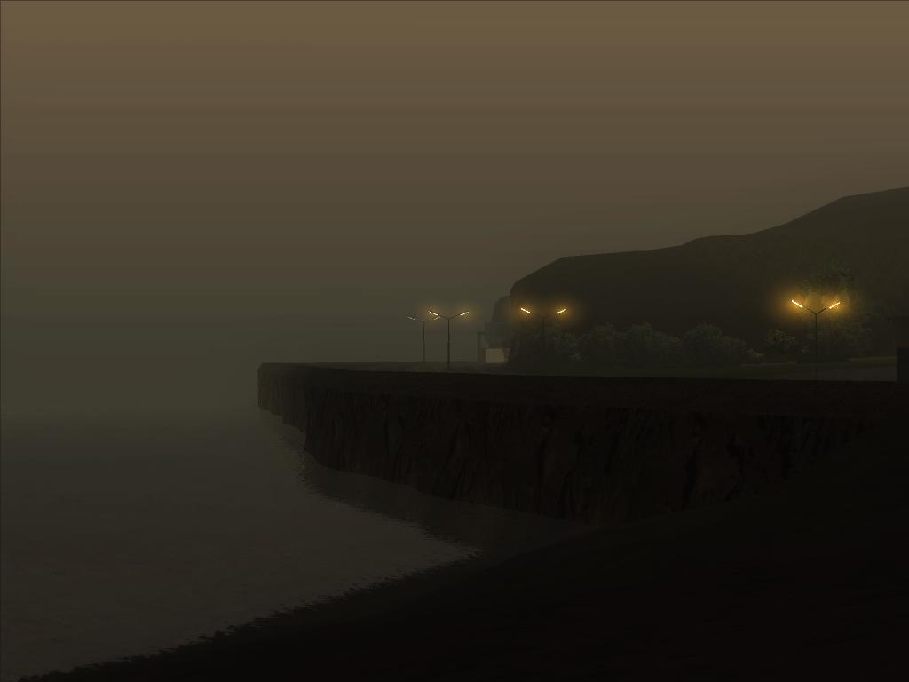 Красиый пtйзаж из GTA SA - Grand Theft Auto: San Andreas