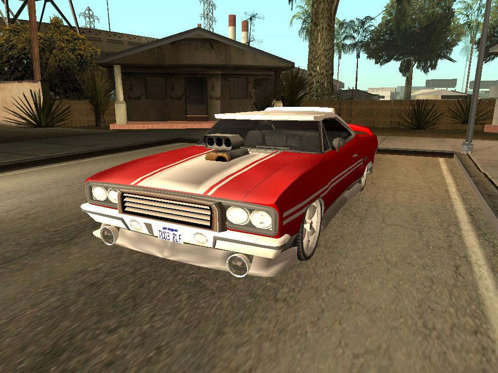 GTX - Grand Theft Auto: San Andreas