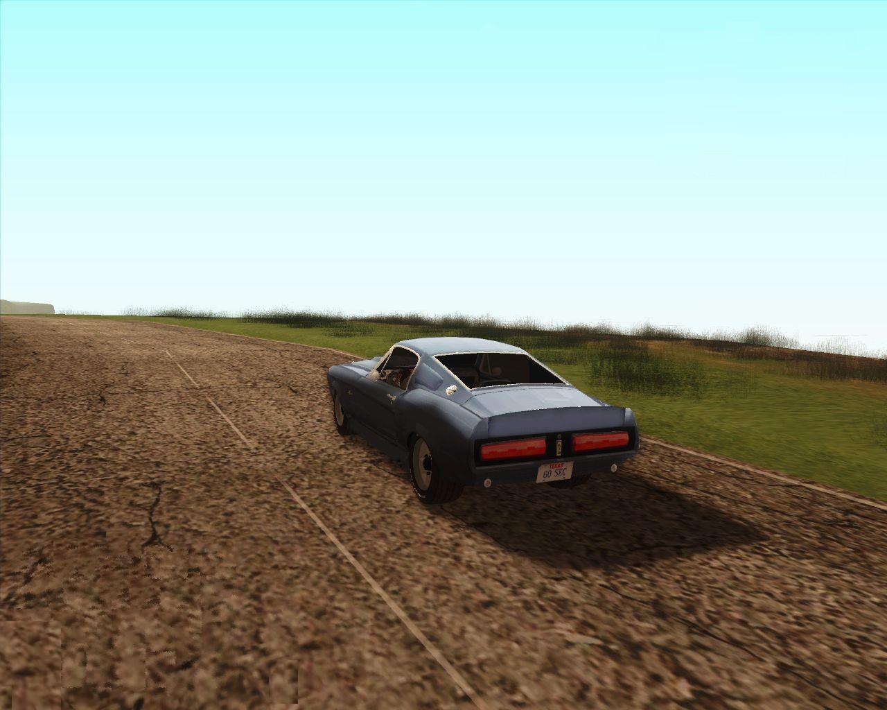 Этот скрин я уже выкладывал, теперь версия без ХУДа - Grand Theft Auto: San Andreas