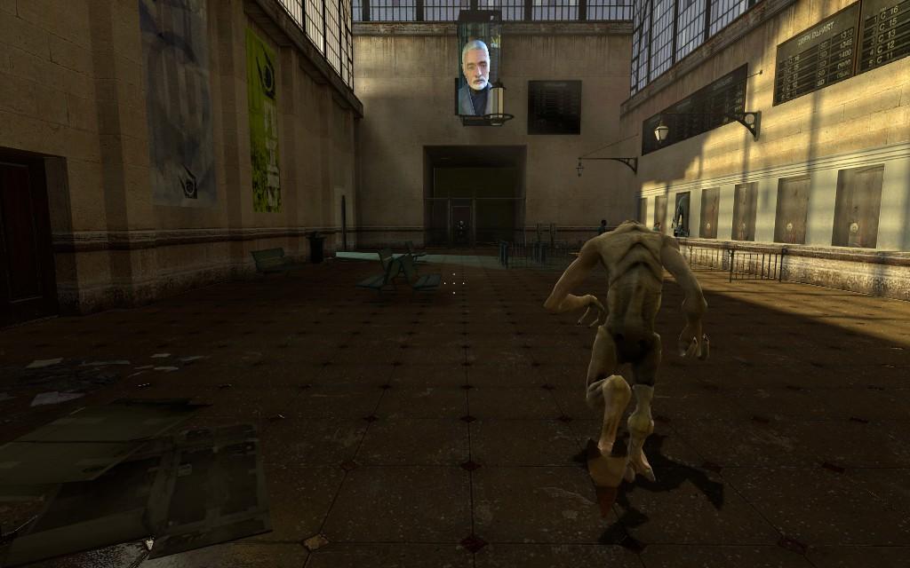 Джамшут спешит вершить правосудие - Half-Life 2