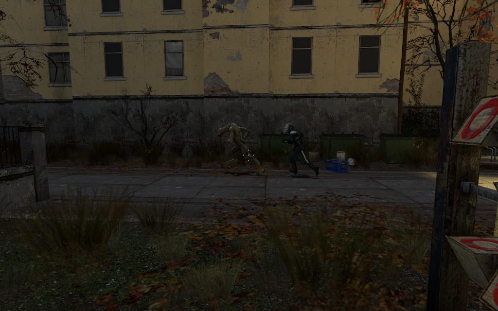 Позорно убежал - Half-Life 2