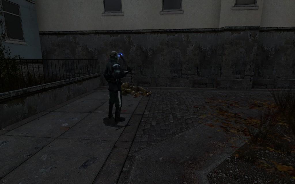 Второй фраг. Офицер не промах - Half-Life 2