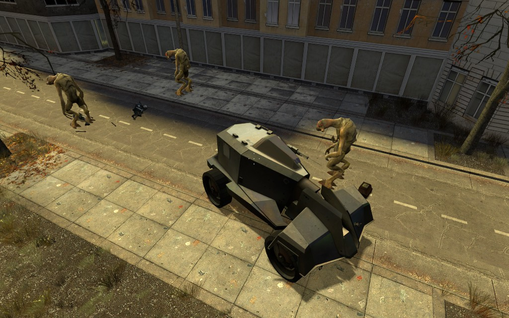 Левитирующие вортигонты - Half-Life 2