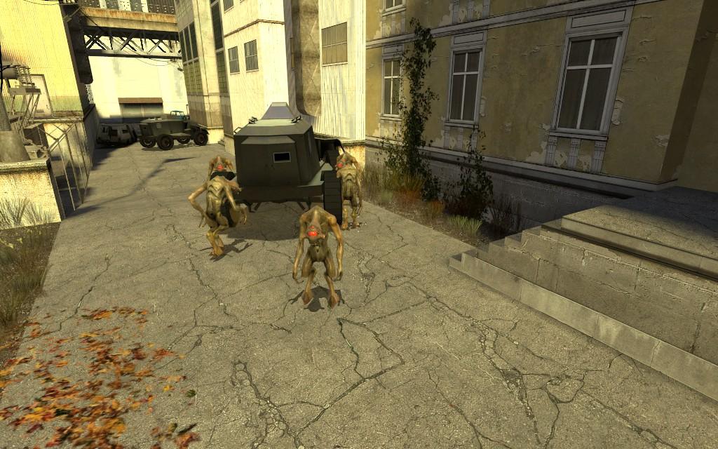 А этому пофиг - Half-Life 2