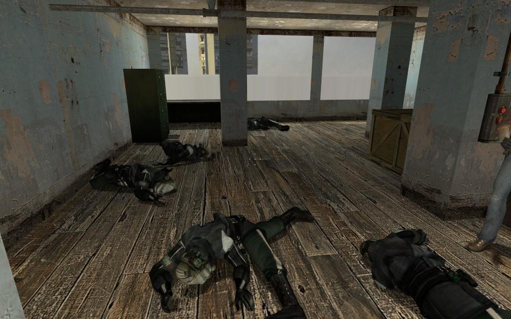 Трупов стало больше - Джамшут постарался! - Half-Life 2