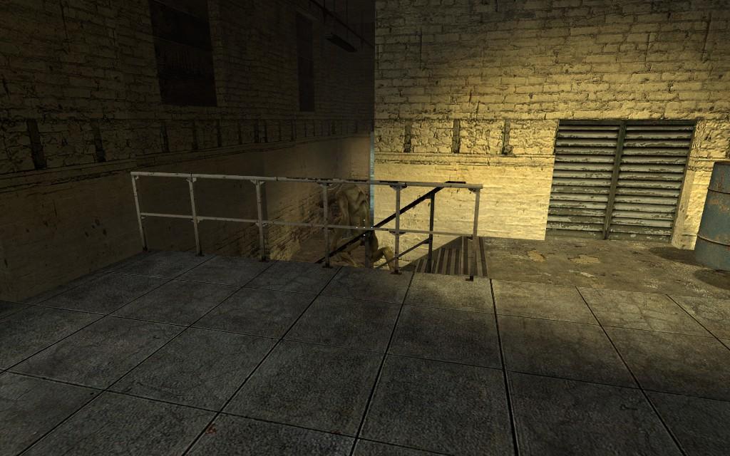 Джамшут умеет по лестнице - Half-Life 2