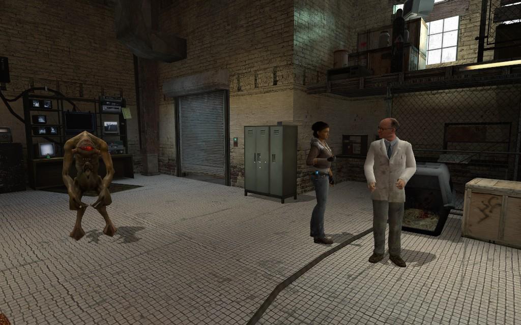 Аликс, кого это ты ещё привела? - Half-Life 2
