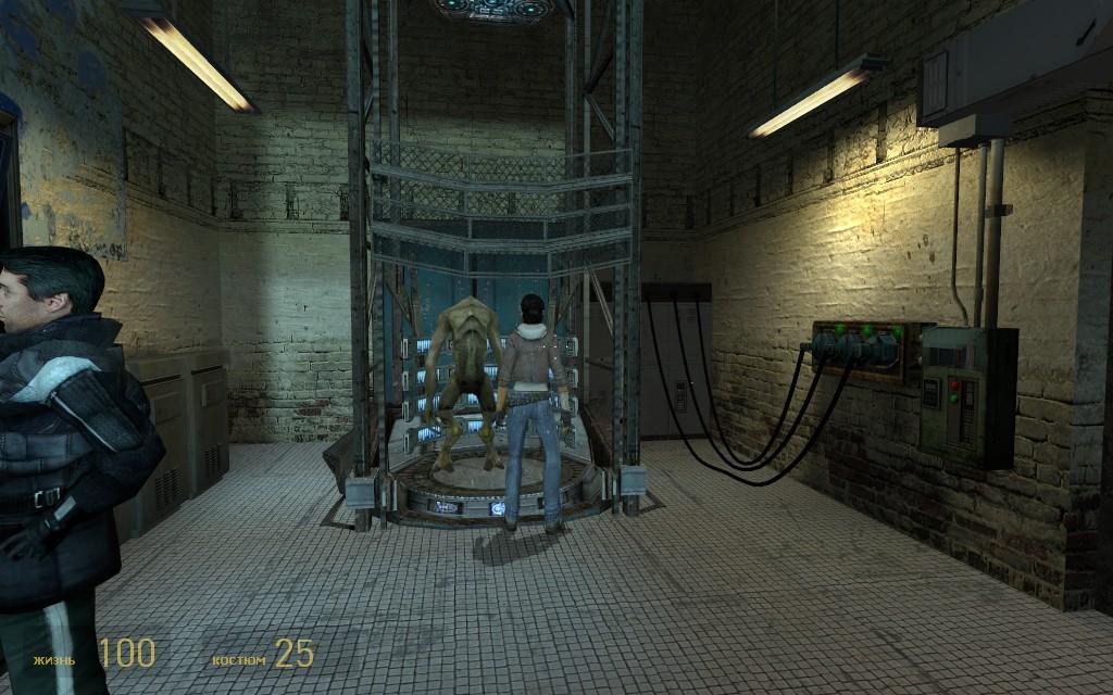 Аликс решила помешать его планам... - Half-Life 2