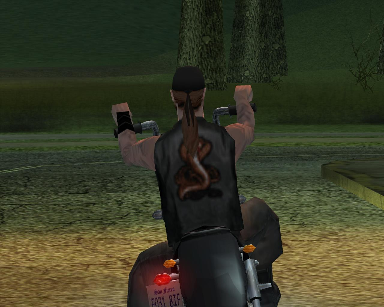 Байкер - Grand Theft Auto: San Andreas