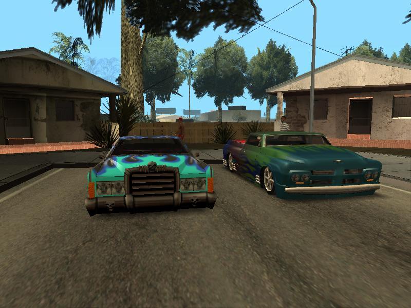 Мои любимые. - Grand Theft Auto: San Andreas