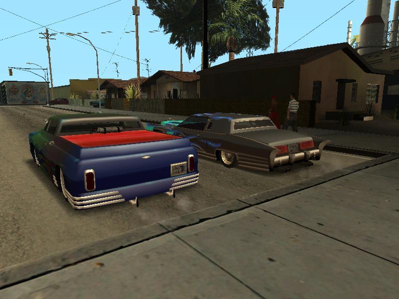 Вид сзади. - Grand Theft Auto: San Andreas