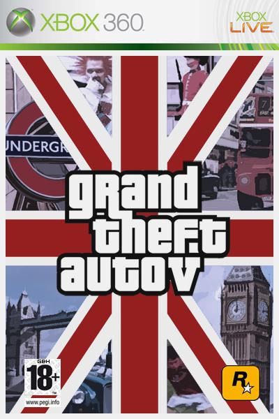 Годный креатив, надеюсь на Лондон в Шестёрке - Grand Theft Auto 5