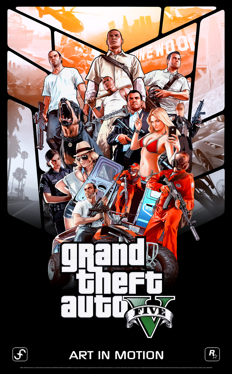 фан арт ))) - Grand Theft Auto 5