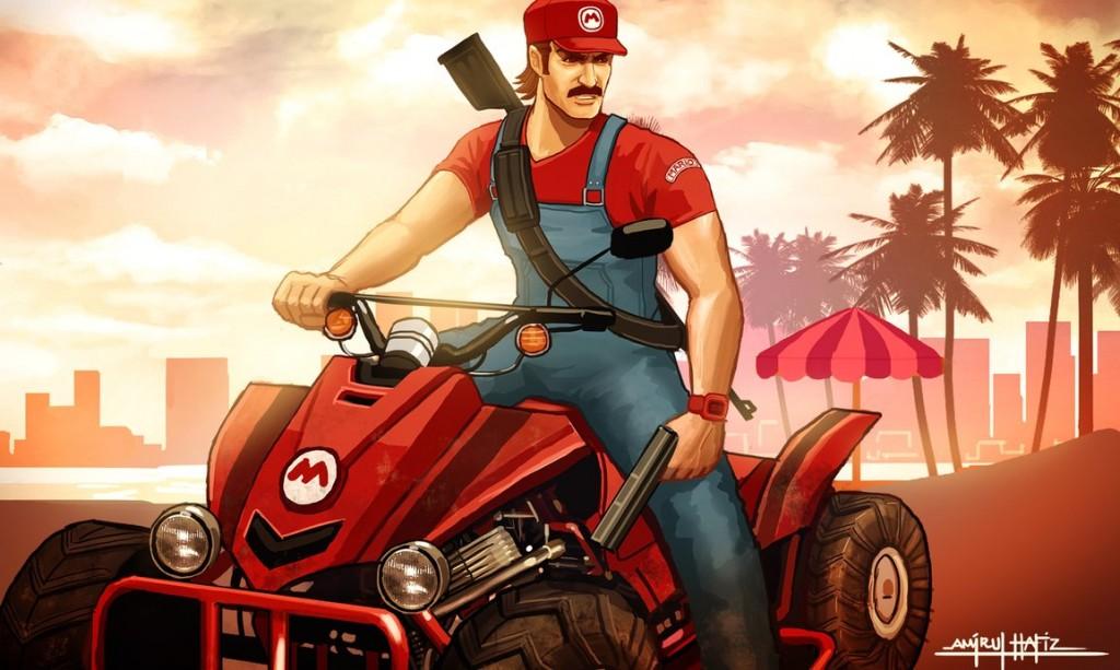Grand-Theft-Mario-Kart-1024x613.jpg - Grand Theft Auto 5