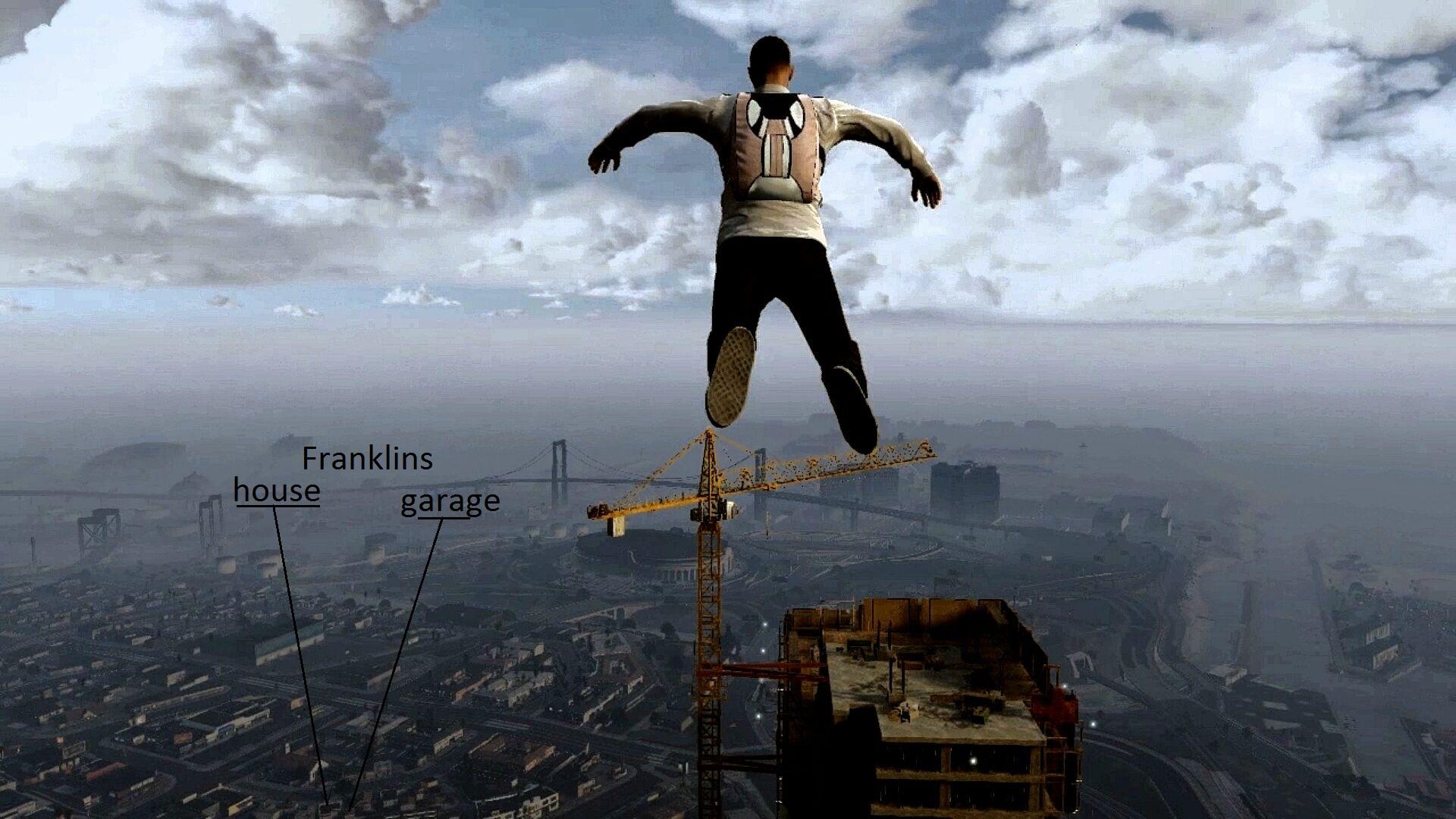 GTA 5 franklins house - Grand Theft Auto 5