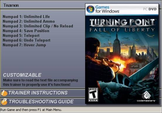 Turning Point: Trainer (+7)[1.0] - Turning Point: Fall of Liberty