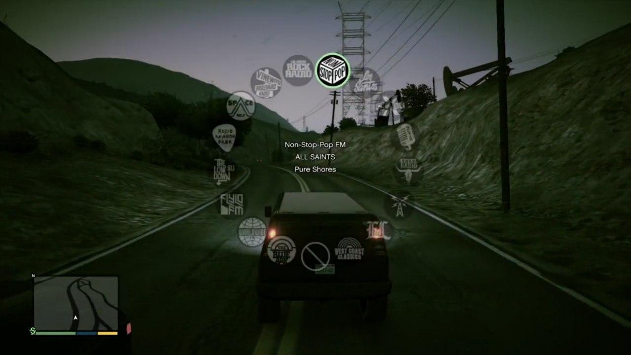 Список радиостанций в GTA V - Grand Theft Auto 5