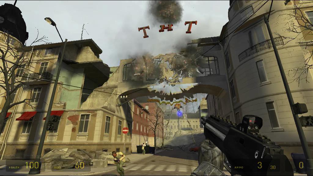 No TNT! - Half-Life 2