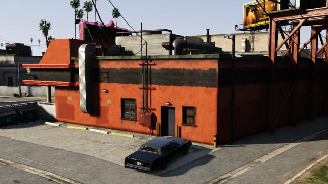 Открытая автостоянка Стрип-клуба Vanilla-Unicorn - Grand Theft Auto 5